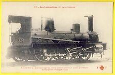 cpa Superbe LOCOMOTIVE à vapeur de la Compagnie de CHEMINS de FER PARIS ORLÉANS