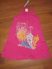 New Girls Sz 6 Hang Ten Sleeveless Pink Summer Dress Retails $34