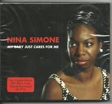 NINA SIMONE - MY BABY JUST CARES FOR ME on 2 CD's - NEW -