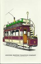 cigarette/trade cards - NORWICH ELECTRIC TRAMWAYS COMPANY