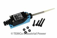 TEMCo Plastic Spring Rod Limit Switch NC-NO CNC Mill Plasma Router Lathe home
