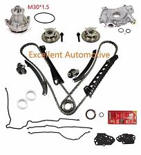 04-08 F-150 F-250 Lincoln 5.4  Timing Chain Kit Cam Phaser Oil Water Pump Gasket