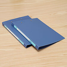1× A4 Paper Expanding File Folder Document Table Office School Supply Metal Clip