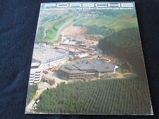 1986 1985 Porsche Environment & Emission GERMAN Brochure 911 Carrera 928 944 930