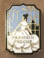 Vintage Enamel 1920 Pin Issued to Authorized Representative of Fashion Frocks