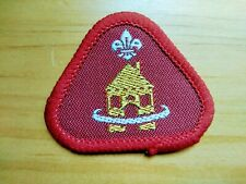 VINTAGE - HOME SAFETY - SCOUT BADGE - NEW