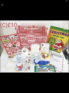 Pre Filled Christmas Eve Boxes activity boxes