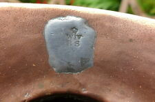 Antique Victorian Copper Ale Measure Jug With Lead Stamp Crown W 4 RS
