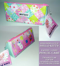 A5 HELLO KITTY LUXURY PENCIL CASE Designers Guild PADDED Japanese Lantern FABRIC