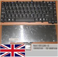 Clavier Qwerty UK FUJITSU Siemens Amilo M7440 M7440G K051329B1-XX 860N74100 Noir