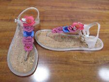 NEW Kate Spade New York Fatema Flower Jelly Sandals Women's Size 8 $110.