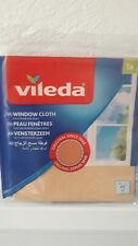 Vileda Window Cloth 40cm x 36cm - Streak Free Glass Cleaning.