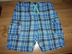 Boy's Blue Shorts- Age 9-10 Years - By Jack Green -Adjustable Waist -100% Cotton