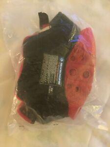 661 SixSixOne Fenix Helmet pads - Size Small, Black/Red