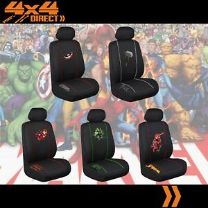 SINGLE LICENSED MARVEL AVENGERS SEAT COVER FOR TRIUMPH TR 4A
