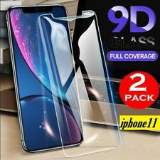 2X Apple iPhone 11 Tempered Glass Full Screen Protector  60 Days Free Return