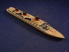 Ancien jouet bateau paquebot DINKY TOYS Normandie MECCANO Zamac plomb