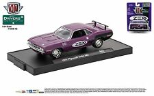 1:64 M2 Machines DRIVERS R42 = ZEX Purple 1971 Plymouth Cuda 383 *NIP*