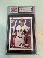 1991 Topps Traded #45T Jason Giambi Rookie Baseball Card  SDC 7?;)