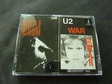 U2 ULTRA RARE AUSTRALIAN DOUBLE CASSETTE TAPE!