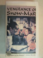 VENGEANCE OF SNOW MAID 1985 MARTIAL ARTS MOVIE VHS NTSC CLAMSHELL CASE RARE OOP