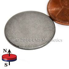 "N45 Neodymium Magnet Dia 7/8X1/32"" NdFeB Rare Earth Magnet 500 PC"