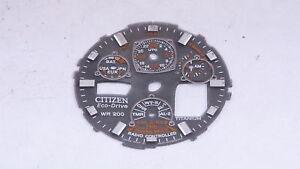 Citizen Skyhawk Eco-Drive Titanium Radio Controlled Watch Dial (U53)