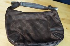Authentic TUMI Small Brown Double Handle Tote Travel Handbag Perfect Size