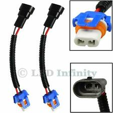 2x Plug&Play 9006 HB4 9012 Low Beam Fog Light Extension Wire Harness Socket