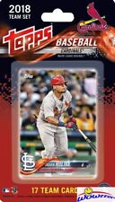 St. Louis Cardinals 2018 Topps Baseball EXCLUSIVE 17 Card Team Set-Yadier Molina