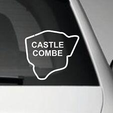CASTLE COMBE RACE TRACK VINYL CAR DECAL STICKER JDM VW EURO DUB