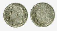 pcc2128_29) Francia 1 Franco  1866 BB Strasburgo