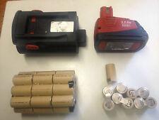 1 Bloc Batterie hilti BP 6 2,4Ah + 1 bloc sfb 126 3Ah NI MH  ( pas les boitiers)