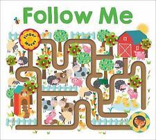 Maze Book: Follow Me [Finger Mazes]