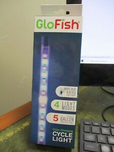 Glofish AQ-29290 4-Mode Color Changing Cycle Light for Up to 5 Gallon FREE SHIP
