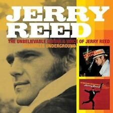 JERRY REED The Unbelievable Guitar and Voice of  & Nashville Underground 2on1