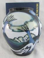 2004 SIGNED OVER Glaze Emma BOSSONS Moorcroft Pottery KNYPERSLEY Vase REAL NICE