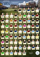 The Open Championship winners British golf since 1940