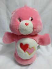 Care Bears Puppet Love a Lot Bear 2003 Hearts Teddy Theater Pretend Play