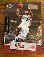 2005/06 Upper Deck Rookie Debut #15 LeBron James - Cavaliers