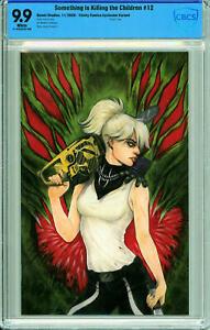 Something is Killing the Children #12 Trinity Comics Virgin Exclusive - CBCS 9.9