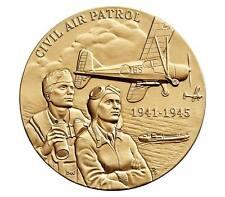 """USA MEDAL BU CIVIL AIR PATROL,""""HONOR,"""" """"CIVILIAN VOLUNTEERS WHO FLEW ARMED & HUM"""