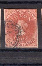 CHILE 1854 Desmadryl Sc.3 4 margins NO faults III