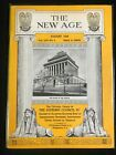 The New Age: The Official Organ of the Supreme Council 33゚, freemason, 1958, aug