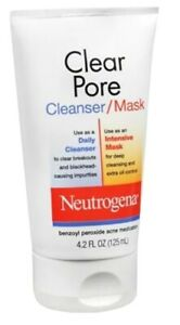 Neutrogena Clear Pore Cleanser Facial  - Acne Wash 4.2 oz