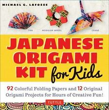 Japanese Origami for Kids : 92 Colorful Folding Papers and 12 Original...