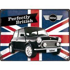Nostalgic-Art Blechschild 30x40cm Mini-Cooper - Perfectly British