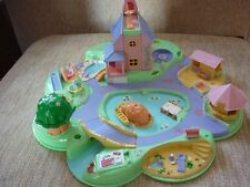 Vintage Polly Pocket 1991 Polly's Dream World & some Original Figures