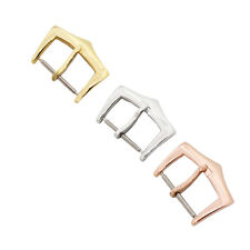New 16mm Stainless Steel Replacement Pin Buckle For Patek Philippe