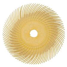 """3M RADIAL 3"""" BRISTLE DISC 80 GRIT 3/8"""" ARBOR FIRE SCALE REMOVAL CLEAN"""